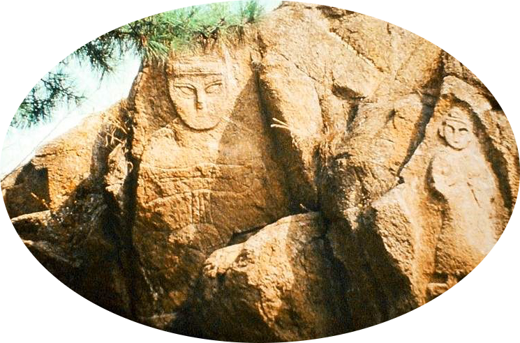 · Cristianismo Primitivo en China · Early Christianity in China · Relieves en piedra de la colina de Kong Wang Shan · Apóstol Tomás en China · Apostle Thomas in China ·